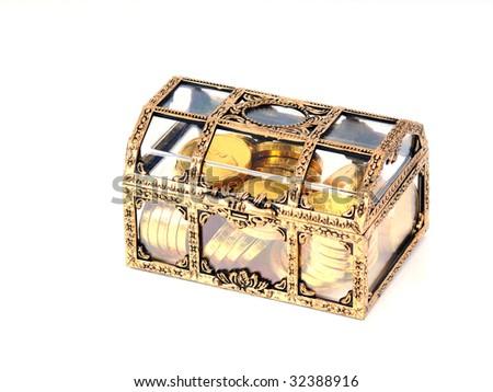 Treasure Box - stock photo