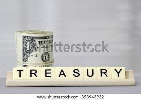 Treasury - stock photo