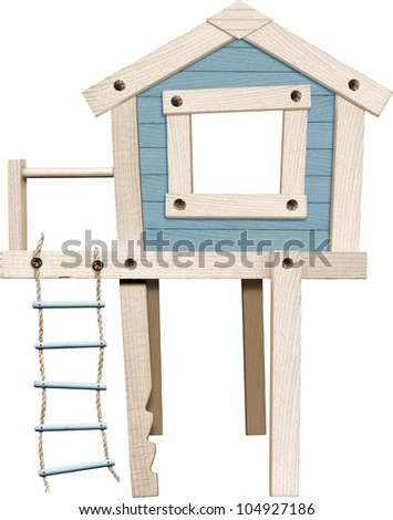 tree-house - stock photo