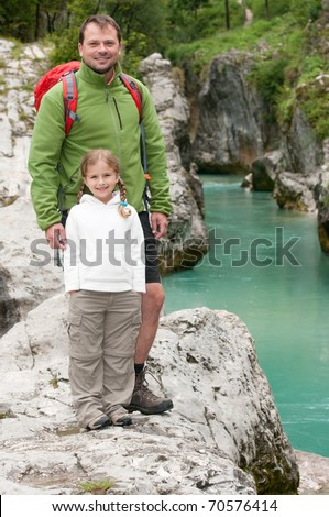 Trekking with father