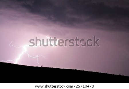 Tremendous Lightning Ground Strike