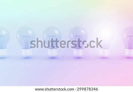 Trendsetting and Radical Idea in a Company - stock photo