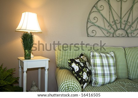 Trendy Modern Dining Room - stock photo