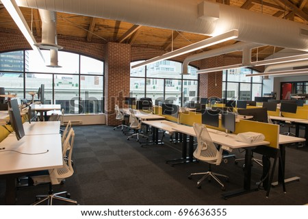 trendy office. Delighful Office Trendy Modern Open Concept Loft Office Space With Big Windows Natural  Light And A Layout To Office U