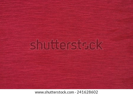 trendy red cotton
