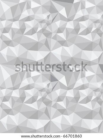 triangles gray texture, abstract art illustration - stock photo