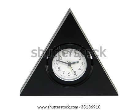 triangular clock