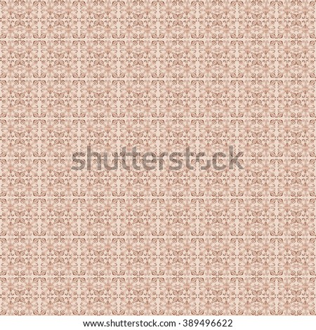 Tribal seamless beige geometric pattern. Striped hand painted Aztec seamless pattern with ethnic and tribal motifs. Watercolor. Ethnic background.  Flowers texture.