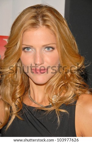 Tricia Helfer at the Maxim Cover party featuring Tricia Helfer and Grace Park, MI6, West Hollywood, CA.  10-20-09
