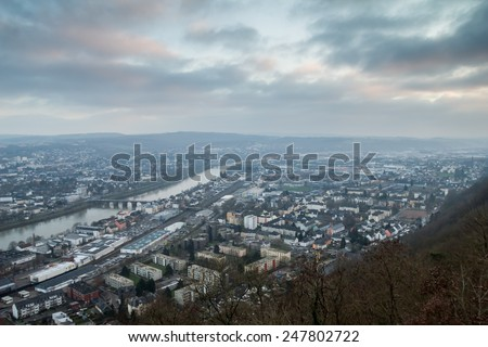 trier city in germany - stock photo