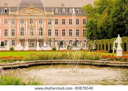 Trier palace - stock photo