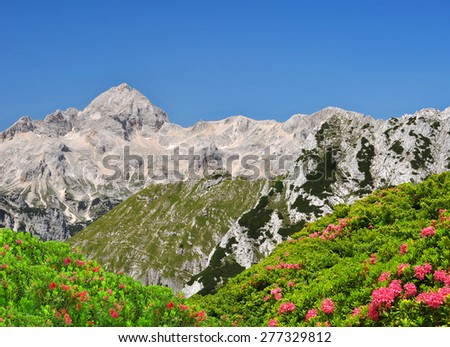 Triglav National Park - Julian Alps, Slovenia - stock photo