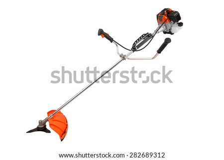 trimmer isolated on white background - stock photo