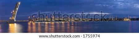 Trinity bridge - stock photo