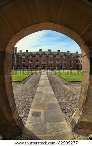 Trinity College,Cambridge, UK - stock photo