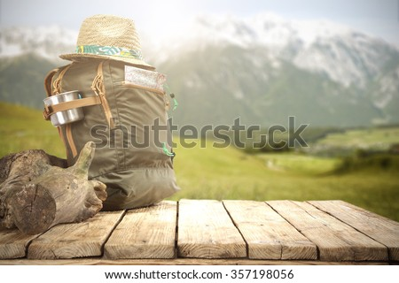 trip shoes  - stock photo