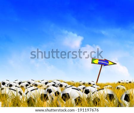 Trip to Brazil - stock photo