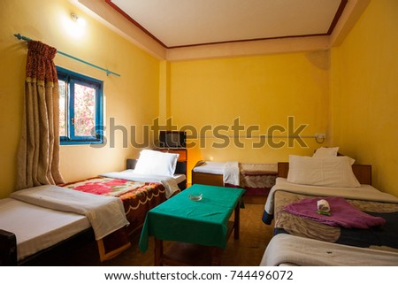 Guest house stock images royalty free images vectors for Room design in nepal
