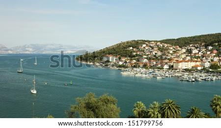 Trogir Landscape - stock photo