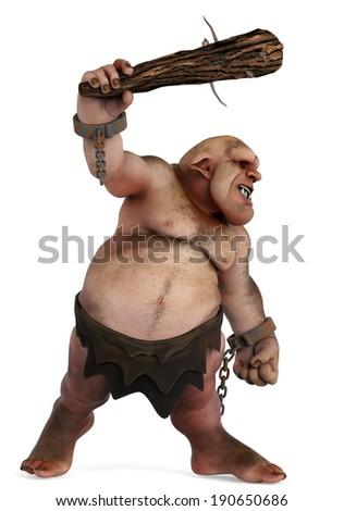 troll attack - stock photo