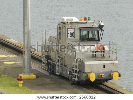 Trolley at the Panama Canal