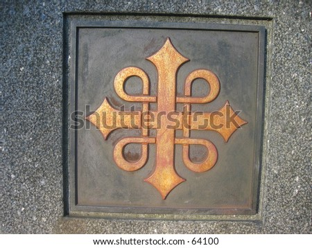 Trondheim Cathedral relic. - stock photo
