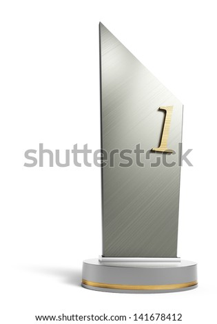 trophy - stock photo