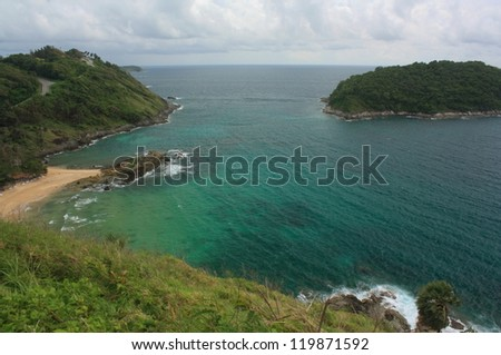 Tropical and exotic island near Phuket.