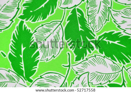 Tropical Background Design - stock photo