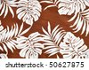 Tropical background pattern / texture - stock photo