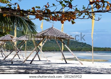 Tropical beach in Anda, Bohol island, Philippines - stock photo