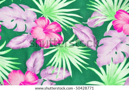 Tropical Design Background - stock photo