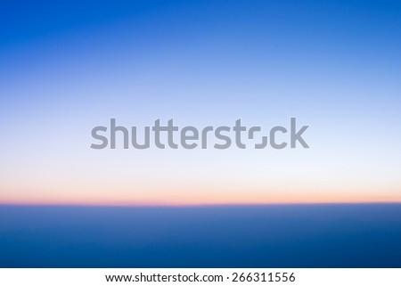 Tropical horizon abstract background - stock photo