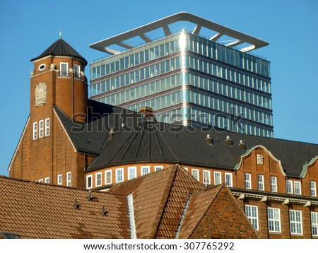 tropical institute hamburg - stock photo