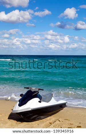 Tropical  paradise - stock photo