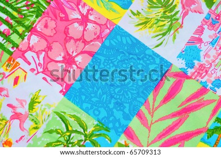 Tropical Pattern - stock photo