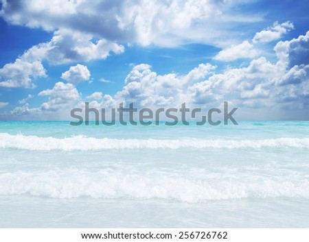 Tropical sea. Sa-med island. Thailand. - stock photo