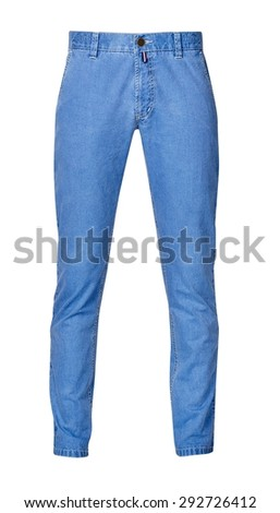 trousers for men isolated on a white background.with clipping path.