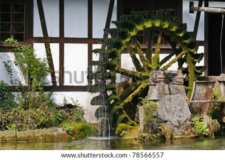 Trout hammer mill - stock photo