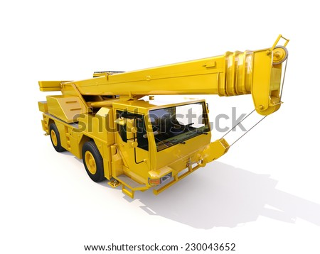Truck Mounted Crane Stock Images, Royalty-Free Images & Vectors ...