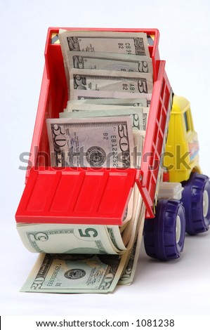 Truckload of money