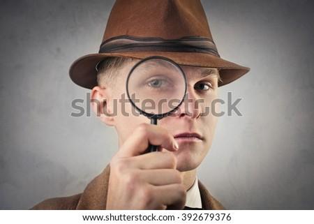 True detective - stock photo