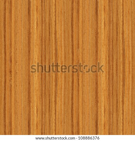 True seamless texture of teak (high-detailed wood texture series) - stock photo
