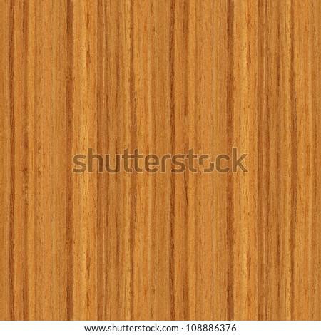 True seamless texture of teak (high-detailed wood texture series) - stock photo