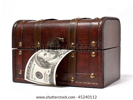 Trunk with dollar