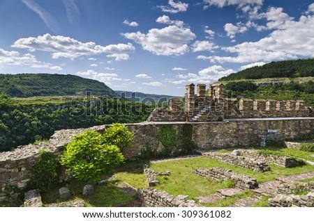 Tsarevets Fortress in Veliko Tarnovo - stock photo
