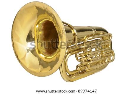 tuba - stock photo