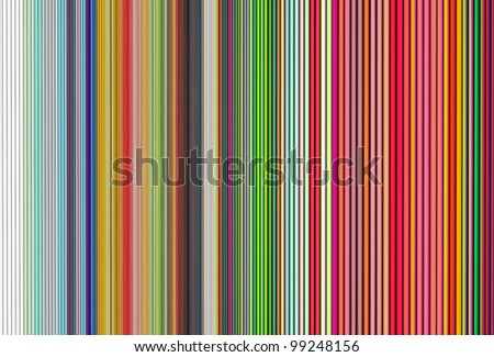tube abstract wave 3d backdrop in multiple rainbow colors