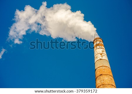 tube cloud steam polution