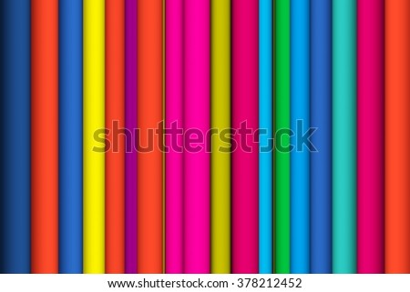 tube line abstract colorful background 3d illustration